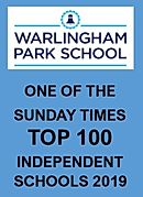 One of Sunday Times Top 100 Independent Schools 2019